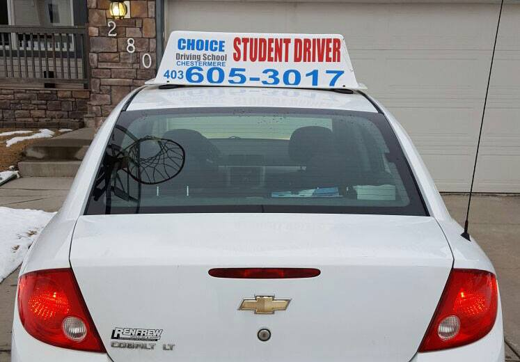 Chestermere driving school